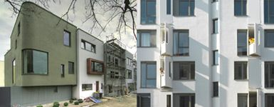 Bild zu Wohnen am Mauerpark / Wohn- und Geschäftshaus