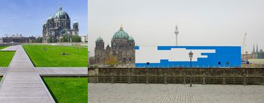 Bild zu Temporäre Kunsthalle / Übergangsnutzung Schlossareal